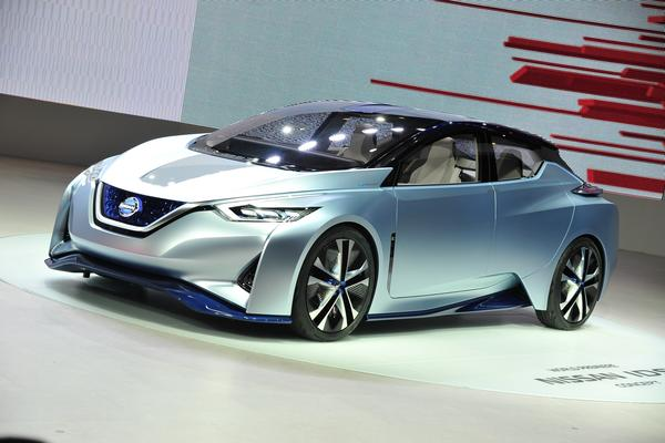 ​Nissan IDS Concept: Nissan's vision for the future of EVs and autonomous driving